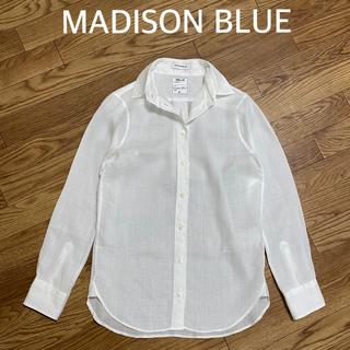 マディソンブルー(MADISONBLUE)の【MADISON BLUE】MADAME RAMIE SHIRT /01(シャツ/ブラウス(長袖/七分))
