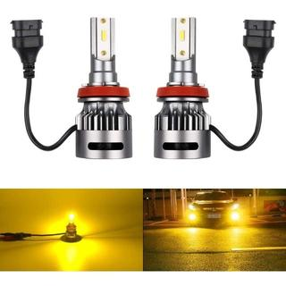 Catland LEDフォグランプ H8 イエロー 車用 LEDフォグ H11 (天井照明)