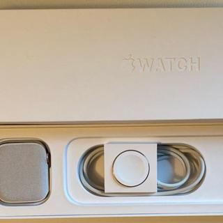 Apple Watch - Apple Watch series 5 44mm ステンレススチール GPS