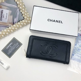 CHANEL - 美品・シャネル CHANEL 長財布 小銭入れ