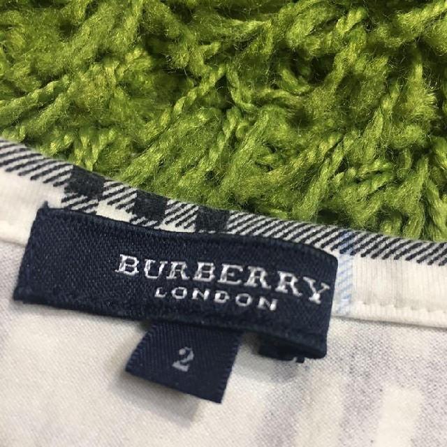 BURBERRY(バーバリー)のburberryバーバリー 定番チェックトップス レディースのトップス(カットソー(半袖/袖なし))の商品写真