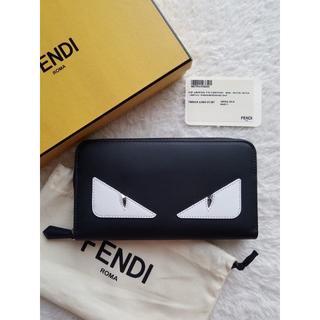 フェンディ(FENDI)のFENDI フェンディ Monster Eye ジップ 長財布(長財布)