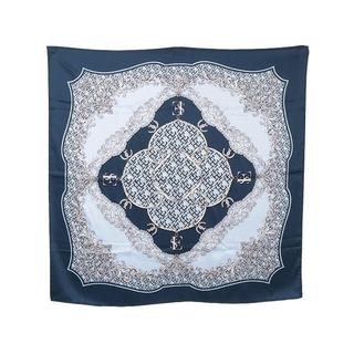 エイミーイストワール(eimy istoire)の新品 eimy Limited ES pattern スカーフ ネイビー(バンダナ/スカーフ)