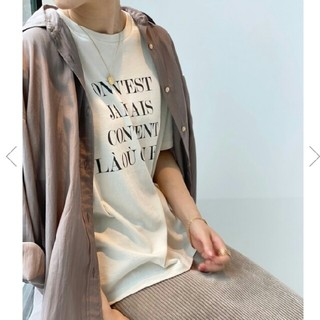 IENA - IENA Le Petit Prince ロゴTシャツ A◆