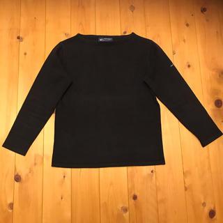 セントジェームス(SAINT JAMES)のSAINT JAMES ブラック長袖シャツ(カットソー(長袖/七分))