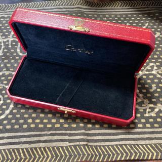 カルティエ(Cartier)のCartier  ボールペンケース 空き箱 リボン付き(ペンケース/筆箱)
