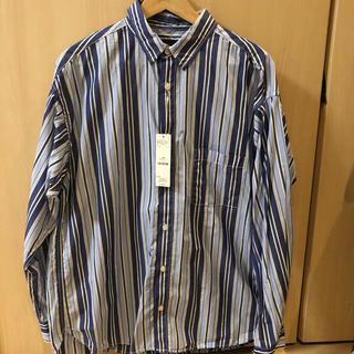 レイジブルー(RAGEBLUE)の新品 未使用 レイジブルー ストライプシャツ RAGEBLUE L(シャツ)