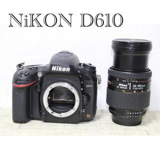 Nikon - NiKON ニコンD610レンズセット フルサイズ