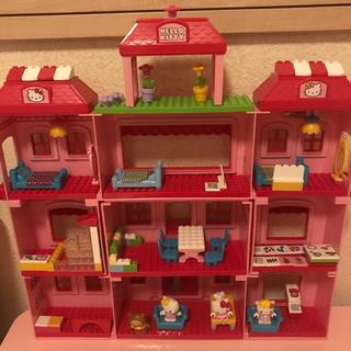 Lego - 大きい!!激レア♡ ハローキティ メガブロック 大きなホテル