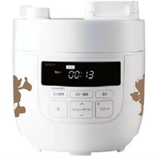 ●新品 シロカ siroca ディズニー電気圧力鍋 ミッキー&ミニーシルエット柄
