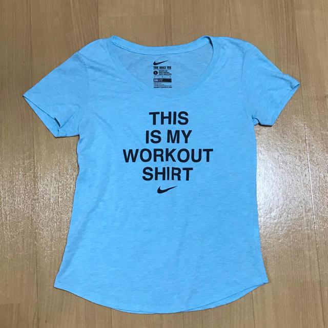 NIKE(ナイキ)のNIKE レディース L レディースのトップス(Tシャツ(半袖/袖なし))の商品写真
