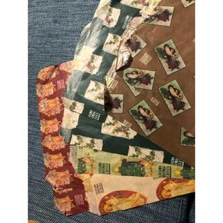 フェリシモ(FELISSIMO)のフェリシモ クリスマス ペーパーバッグ カード セット レトロ(カード/レター/ラッピング)