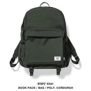 ダブルタップス(W)taps)のWTAPS 20aw EX41 BOOK PACK / BAG  オリーブ (バッグパック/リュック)