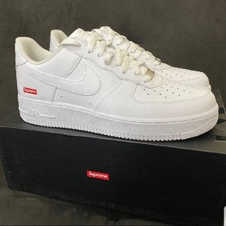 NIKE - 27.5cm Supreme Nike Air Force 1 Low 白