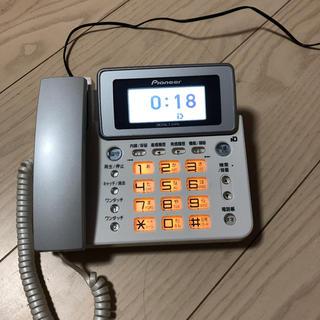 パイオニア(Pioneer)の電話 親機のみ(その他)