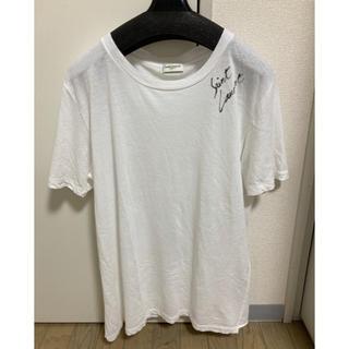 サンローラン(Saint Laurent)のサンローラン ロゴ Tシャツ(Tシャツ/カットソー(半袖/袖なし))