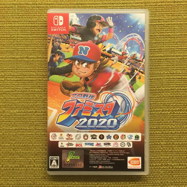Nintendo Switch(ニンテンドースイッチ)のプロ野球 ファミスタ 2020 Switch エンタメ/ホビーのゲームソフト/ゲーム機本体(家庭用ゲームソフト)の商品写真