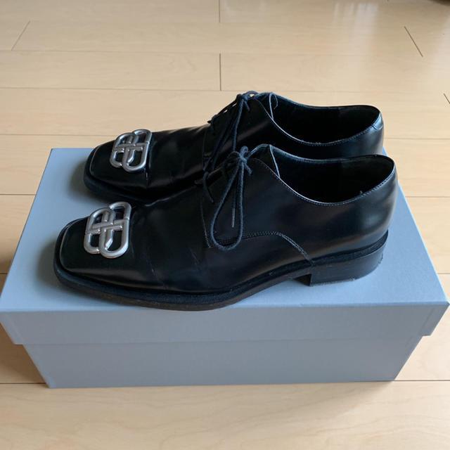 Balenciaga(バレンシアガ)のBALENCIAGA バレンシアガ BB リム ダービーシューズ 革靴 メンズの靴/シューズ(ドレス/ビジネス)の商品写真