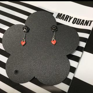 マリークワント(MARY QUANT)のマリークワント ピアス デイジー ハート(ピアス)