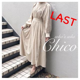 who's who Chico - ラスト⚠️新品✨¥8690【Chico】コットン楊柳マキシワンピース