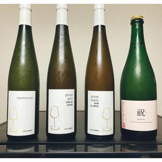 送料込 自然派ワイン4本セット(オヤマダ 祝含む)(ワイン)