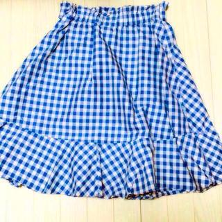 リズリサ(LIZ LISA)のリズリサ ギンガムチェックスカート(ひざ丈スカート)