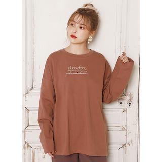 ワンアフターアナザーナイスクラップ(one after another NICE CLAUP)のロゴT ❤︎(Tシャツ(長袖/七分))