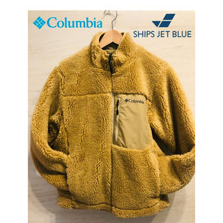 コロンビア(Columbia)のColumbia×SHIPS JET BLUE:別注シュガードーム ボアフリース(ブルゾン)