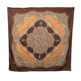 エイミーイストワール(eimy istoire)の新品 eimy Limited ES pattern スカーフ ブラウン(バンダナ/スカーフ)