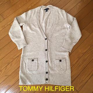 トミーヒルフィガー(TOMMY HILFIGER)のトミーヒルフィガー 八分袖 ロングガーディガン(カーディガン)