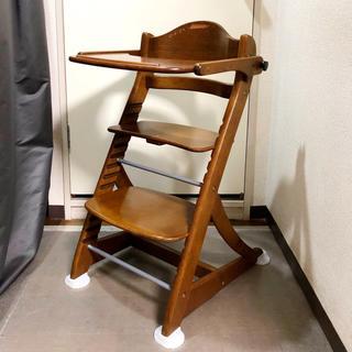 大和屋 - 大和屋 すくすくチェア 木製ハイチェア    木製イス ハイチェア