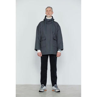 1LDK SELECT - graphpaper double face twill anorak