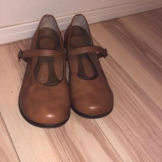 リゲッタ(Re:getA)のRe :getA  キャメル(ローファー/革靴)