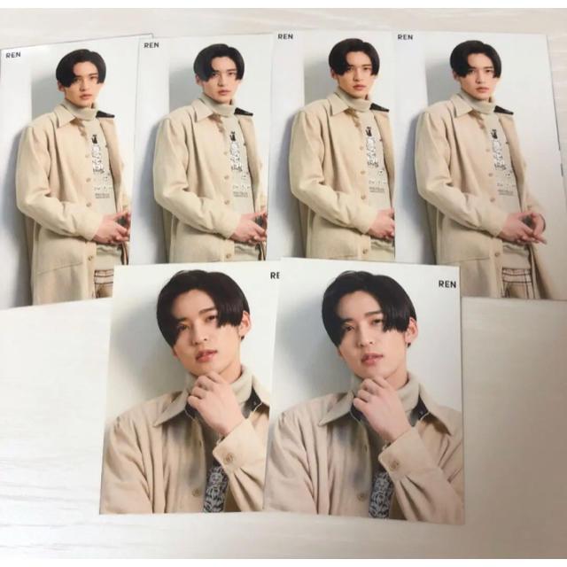 Johnny's(ジャニーズ)の目黒蓮 厚紙 セット エンタメ/ホビーのタレントグッズ(アイドルグッズ)の商品写真