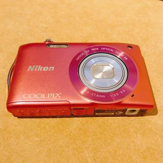 Nikon - Nikon COOLPIX S3300 ストロベリーピンク