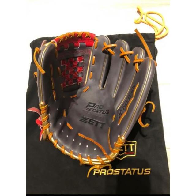 ZETT(ゼット)のゼット 源田 オールスターモデル 源田モデル スポーツ/アウトドアの野球(グローブ)の商品写真