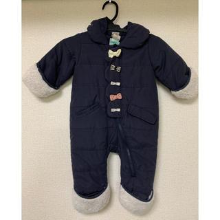 プティマイン(petit main)のプティマイン ダウンロンパース ジャンプスーツ(ジャケット/コート)