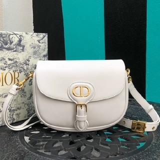 Christian Dior - 激レア 大人気 ディオール ショルダーバッグ ヴィンテージ レザー ホワイト