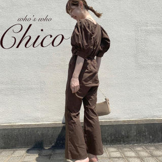 who's who Chico - 新作完売¥7590【Chico】パワショルコンビネゾン BR