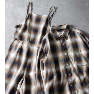 フィーニー(PHEENY)のPHEENYチェックシャツ(シャツ/ブラウス(長袖/七分))