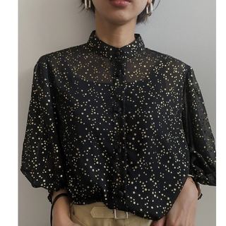 Ameri VINTAGE - アメリヴィンテージ  TWINKLE PUFF SLEEVE SHIRTS