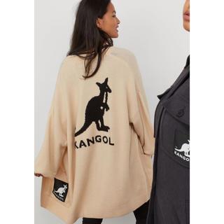 H&M - Kangol×h&m コラボ オーバーサイズニットカーディガン