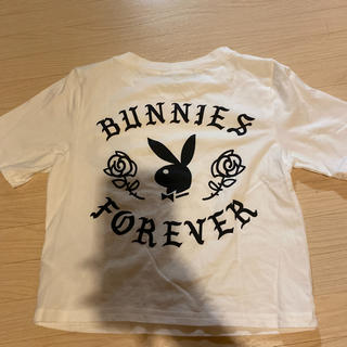 ジェイダ(GYDA)のPLAYBOY×GYDAショートTシャツ(Tシャツ/カットソー(半袖/袖なし))
