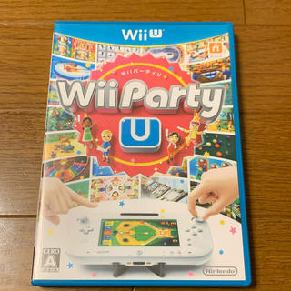 ★Wii Party U Wii U  ケースのみ(家庭用ゲームソフト)