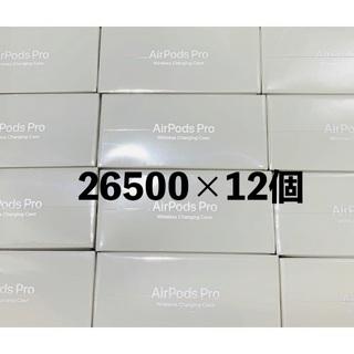 Apple - 新品未開封 AirPods pro 6個