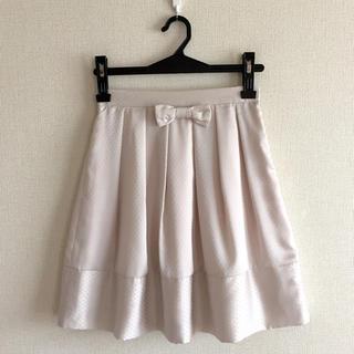 プーラフリーム(pour la frime)のプーラフリーム♡リボンスカート(ひざ丈スカート)