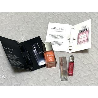 クリスチャンディオール(Christian Dior)のDior♡ネイルエナメル サンプルセット(マニキュア)