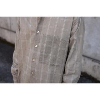 COMOLI - 【AURALEE】SUPER LIGHT CHECK BIG SHIRTS
