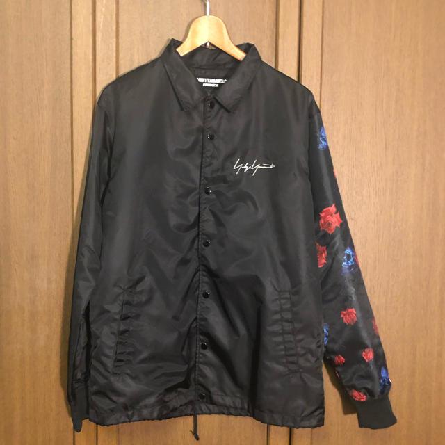 Yohji Yamamoto(ヨウジヤマモト)のyohji Yamamoto new eraコラボ コーチジャケット メンズのジャケット/アウター(ナイロンジャケット)の商品写真
