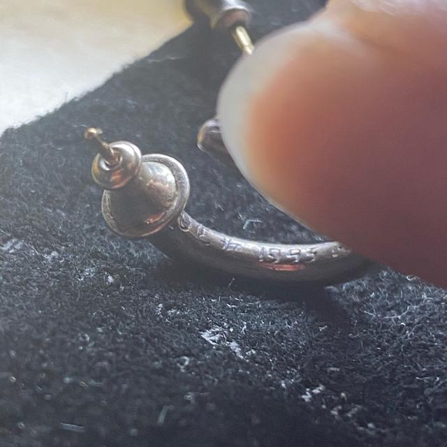 Chrome Hearts(クロムハーツ)のクロムハーツ フープピアス     値下げ可 メンズのアクセサリー(ピアス(両耳用))の商品写真